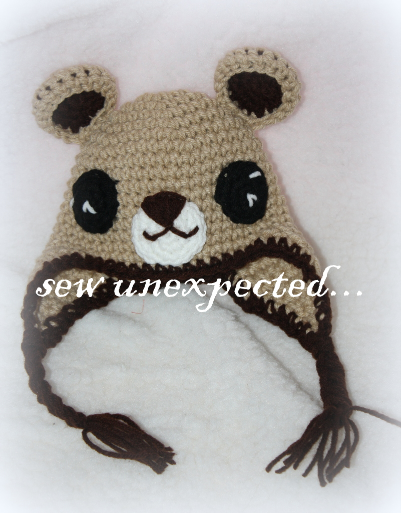 6b3349b9c64 Crochet Teddy Bear Hat on Luulla